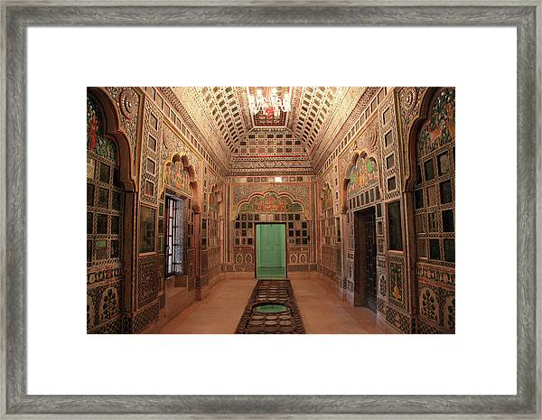 Jodhpur Fort Palace Framed Print by Milind Torney
