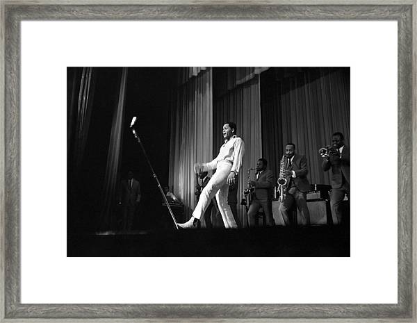 Joe Tex At The Apollo Framed Print