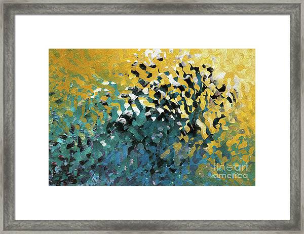 John 8 12. The Light Of Life Framed Print