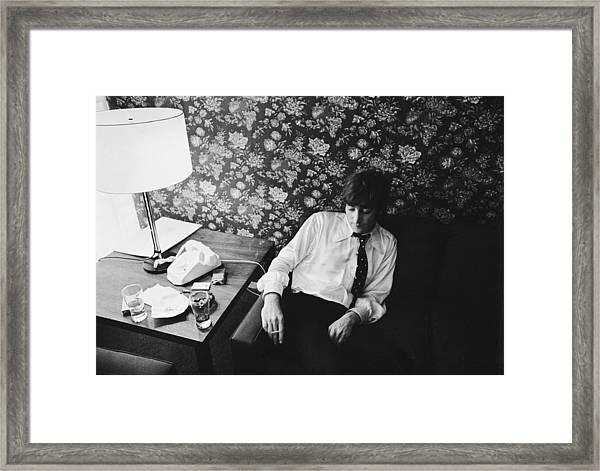 John Lennon Framed Print by Harry Benson