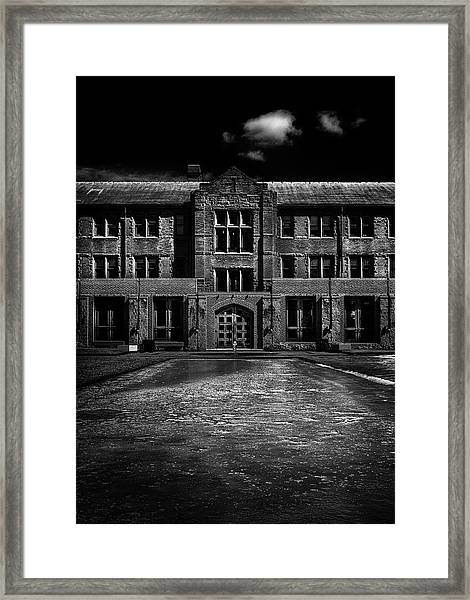 John W Graham Library Framed Print