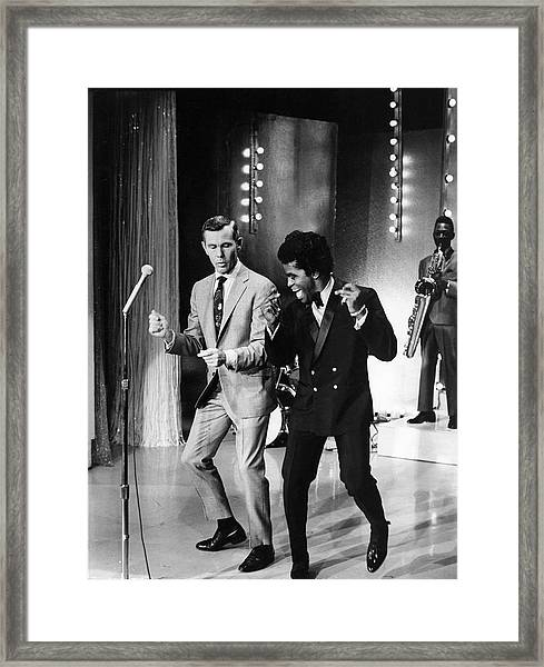 Johnny Carsonjames Brown Framed Print
