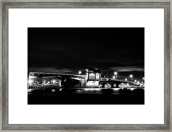 Johns Pass Bridge Framed Print