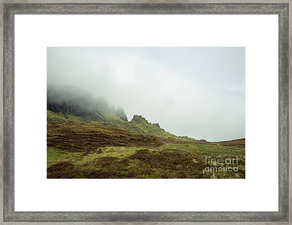 Journey To The Quiraing Framed Print