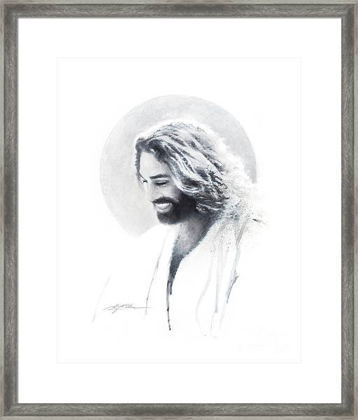 Joy Of The Lord Vignette Framed Print