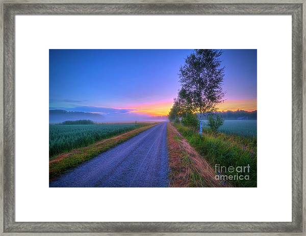 July 7, 03.50 Am Framed Print