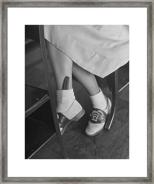 June Runyon Framed Print by Nina Leen