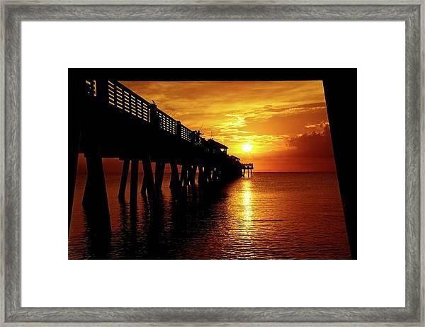 Juno Pier 3 Framed Print