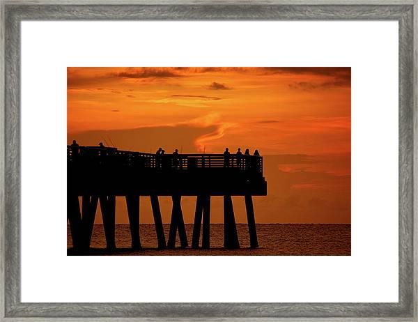Juno Pier 5 Framed Print