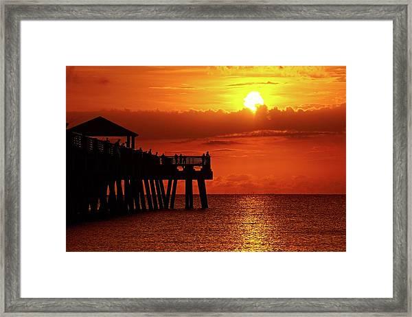 Juno Pier 6 Framed Print