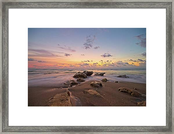 Jupiter Beach 2 Framed Print