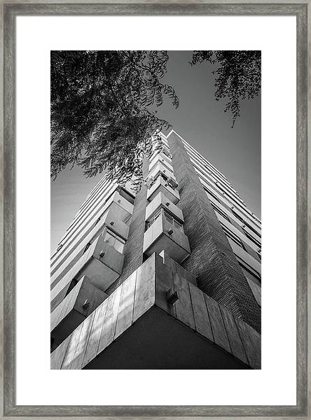 Just Another Skyscraper Framed Print