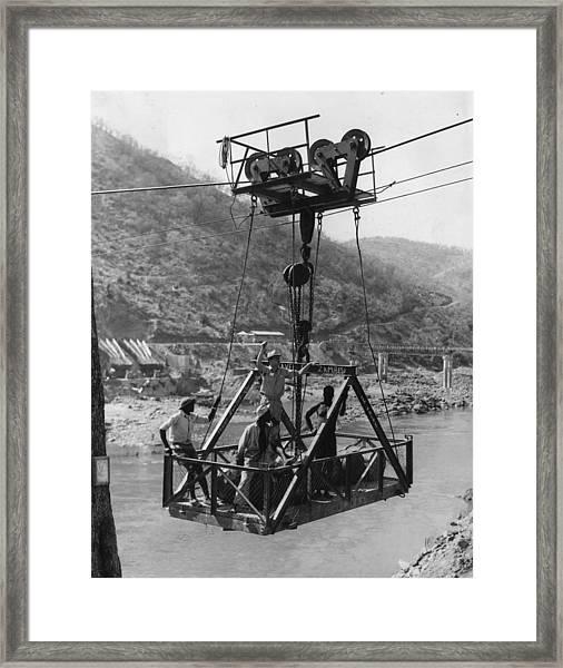 Kariba Dam Site Framed Print