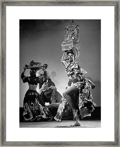 Katherine Dunham Framed Print