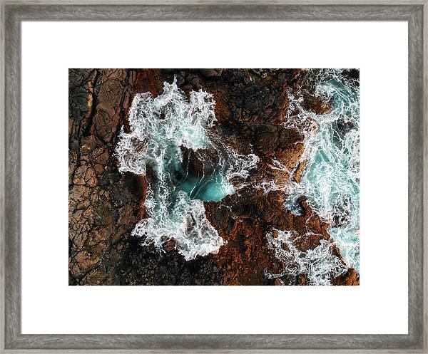 Keahole Aerial Framed Print