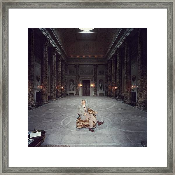 Kedleston Hall Framed Print