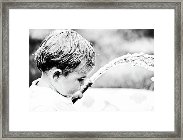 Keeping Cool Framed Print