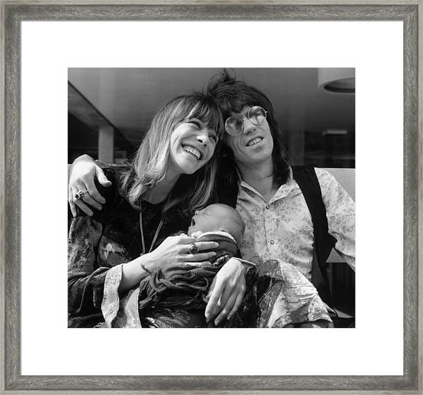 Keith And Anita Framed Print
