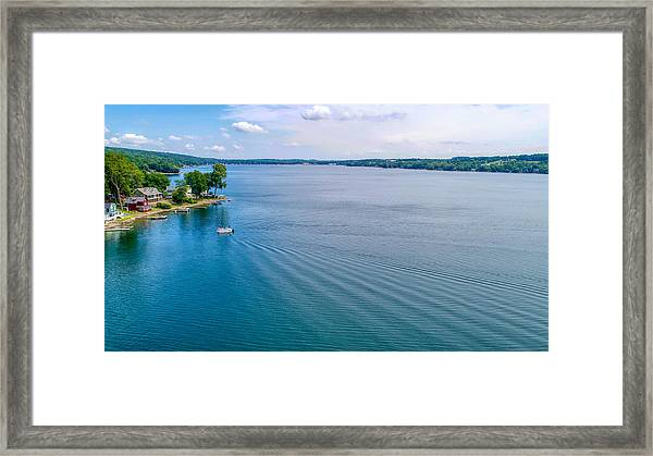 Keuka Days Framed Print