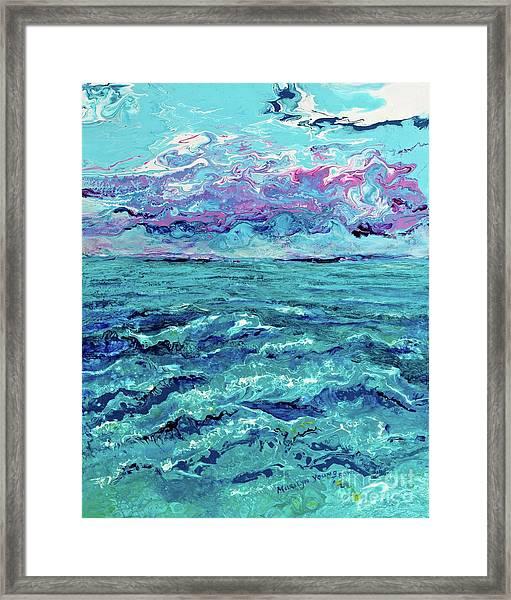 Keys Seascape Framed Print