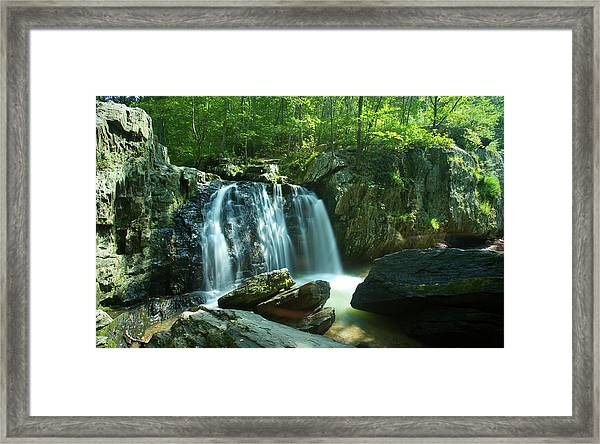 Kilgore Falls In Summer Framed Print