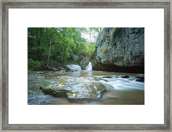 Kilgore Falls Framed Print