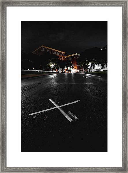 Killshot Framed Print