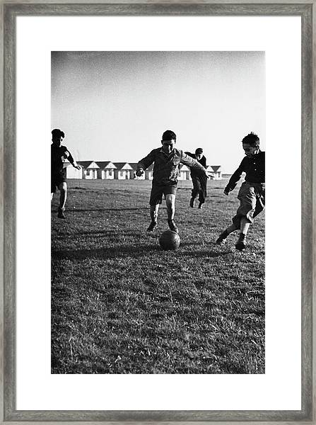 Kindertransport Children Framed Print