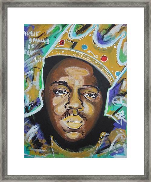 King Christopher Framed Print