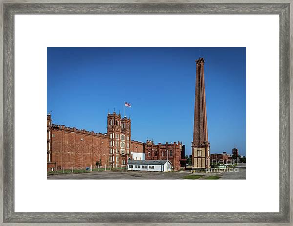 King Mill - Augusta Ga 2 Framed Print