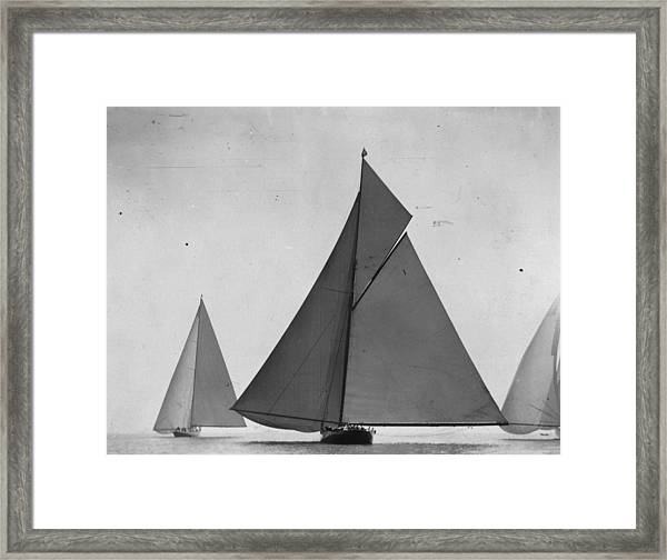 Kings Cutter Framed Print