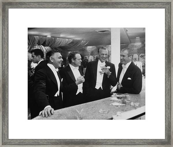 Kings Of Hollywood Framed Print