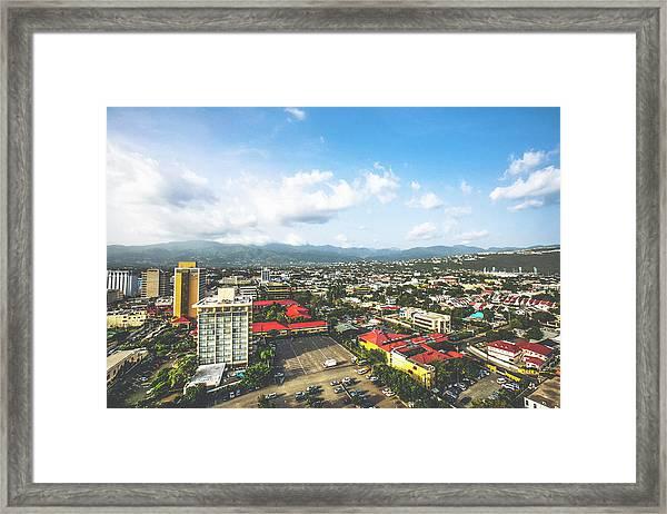 Kingston, Jamaica Framed Print
