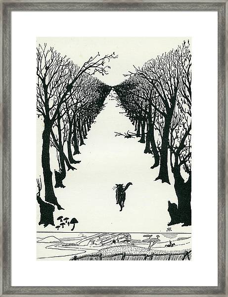 The Cat That Walked By Himself Framed Print