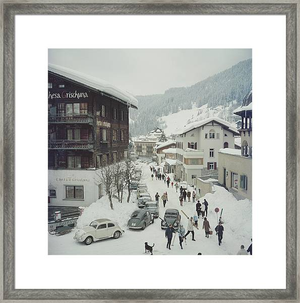 Klosters Framed Print
