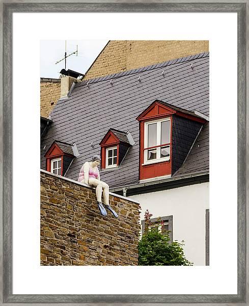 Koblenz Whimsy Framed Print