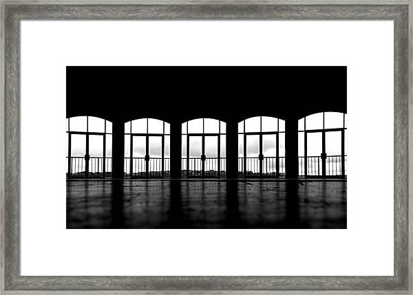 Kresge Stage Framed Print