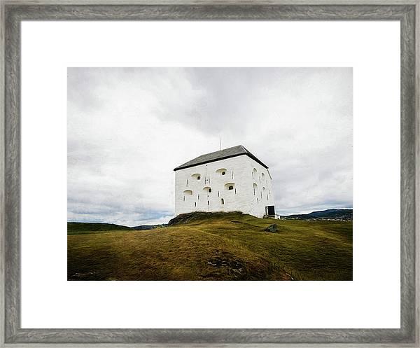 Kristiansten Fortress In Trondheim, Norway Framed Print