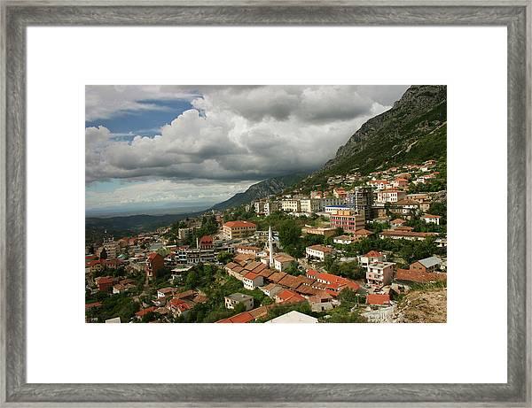 Kruja, Albania Framed Print by Azem Ramadani
