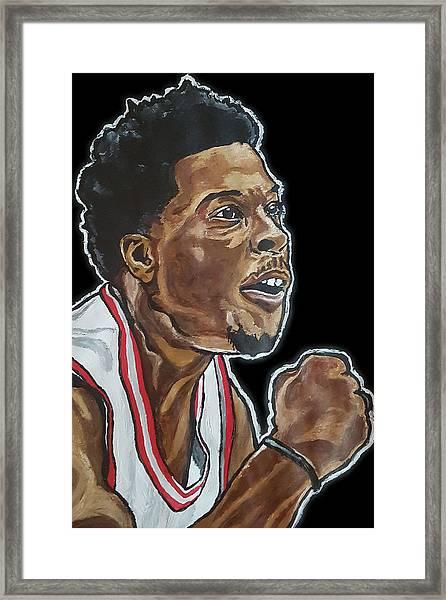 Kyle Lowry Framed Print