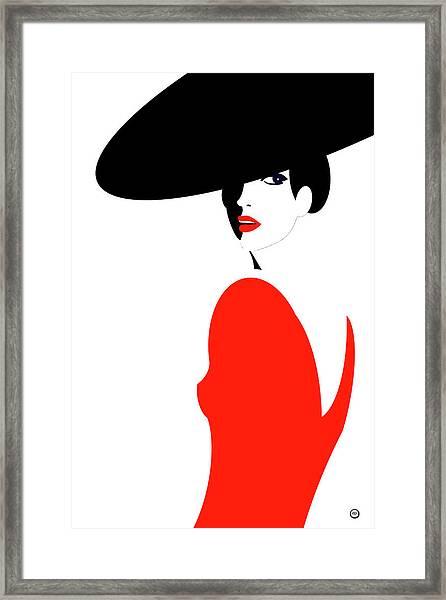 La Belle Dame 1 Framed Print