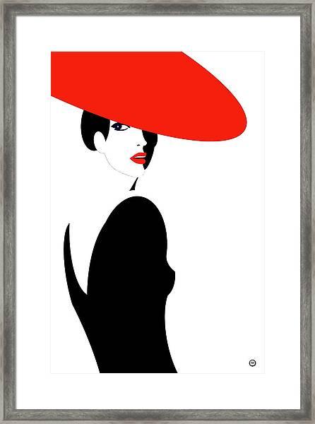 La Belle Dame 2 Framed Print