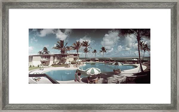La Coquille Club Framed Print