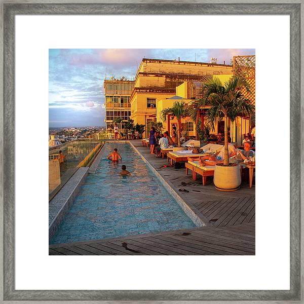 La Dolce Vita A Fera Palace Framed Print