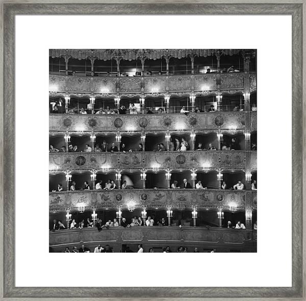 La Fenice Framed Print