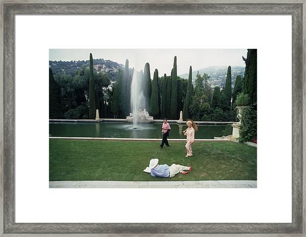 La Leopolda Framed Print