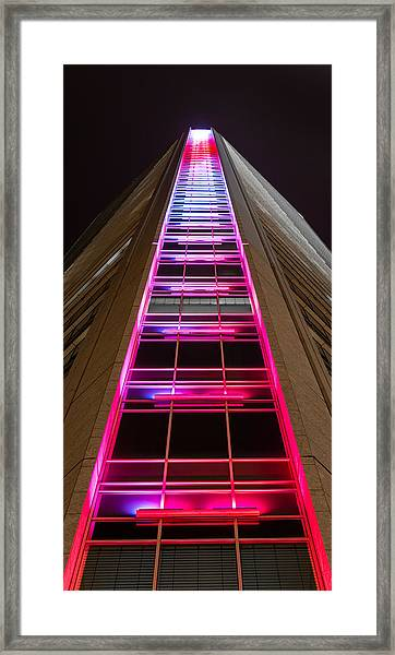 Ladder To Heaven  Framed Print by Christine Buckley