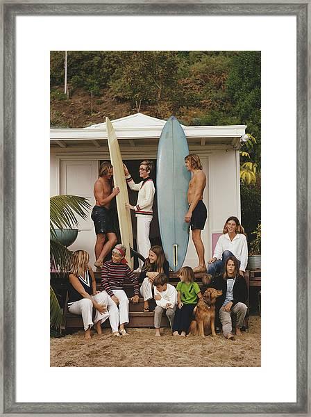Laguna Beach Framed Print