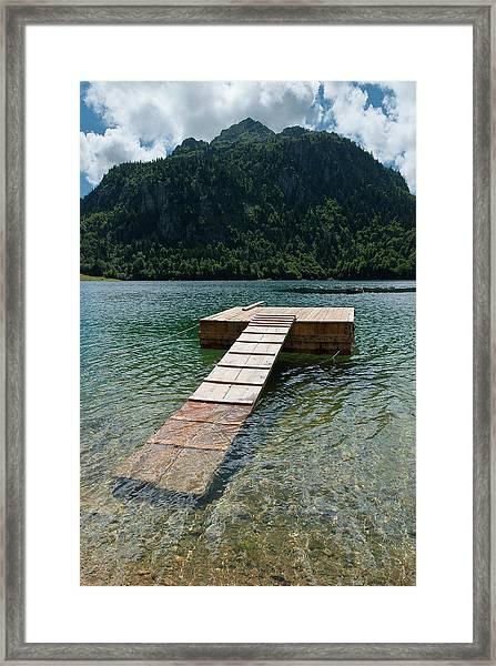 Lake Bious Framed Print