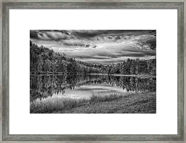 Lake Effect Framed Print